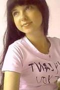 happy, solid and beautiful girl from Irkutsk